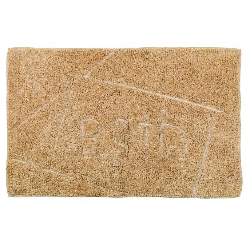 Tαπέτο Μπάνιου ''Bath'' σε Μπεζ χρώμα 50x80εκ