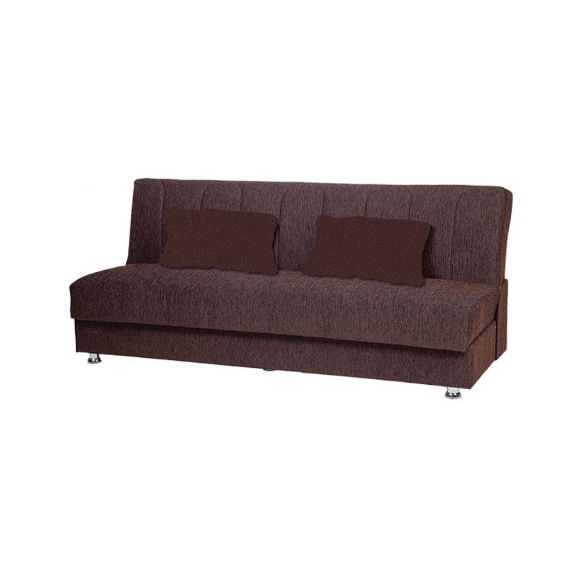Καναπές 3θ Tiger καφέ σκούρο