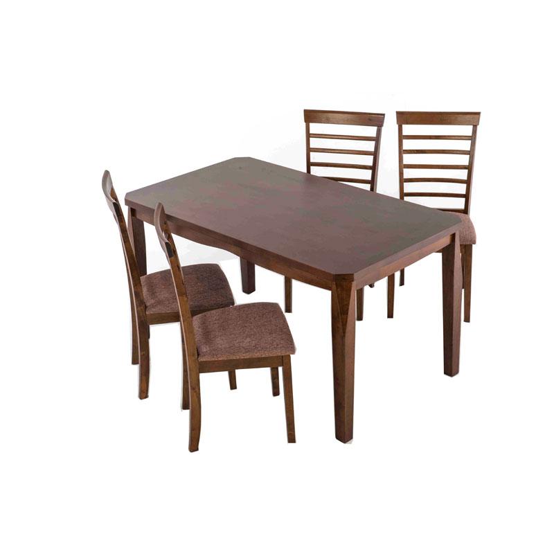 Τραπέζι καφέ ξύλινο Miko 140x80x75εκ