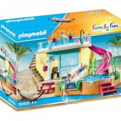 Μπανγκαλόου Με Πισίνα 70435 Playmobil