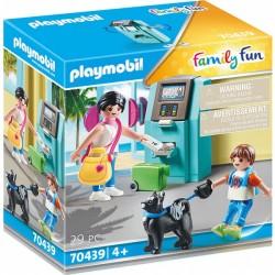 Τουρίστες Στο ATM 70439 Playmobil
